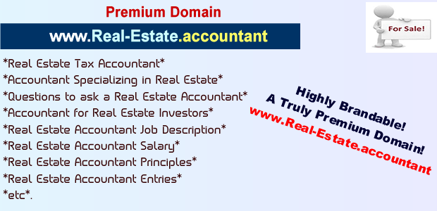 real estate accountant