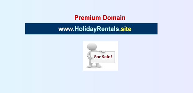 holiday rentals site