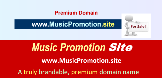 music promotion site