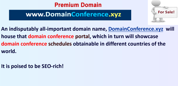 domain conference xyz