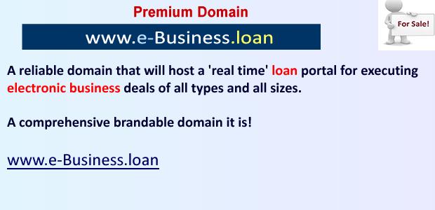 e business loan
