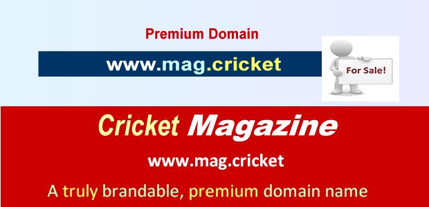 mag cricket